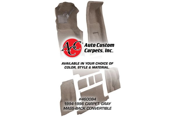 1994-2004 Ford Mustang Coupe /& Convertible Cutpile Factory Fit Carpet