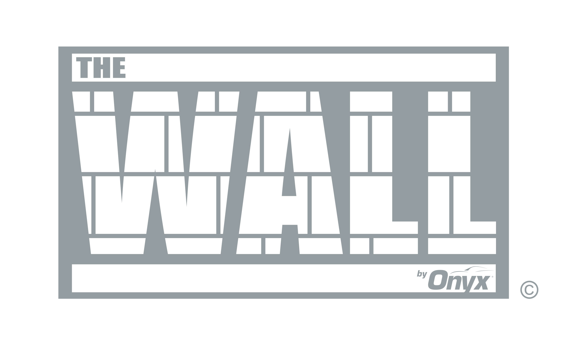 The Wall by Onyx logo