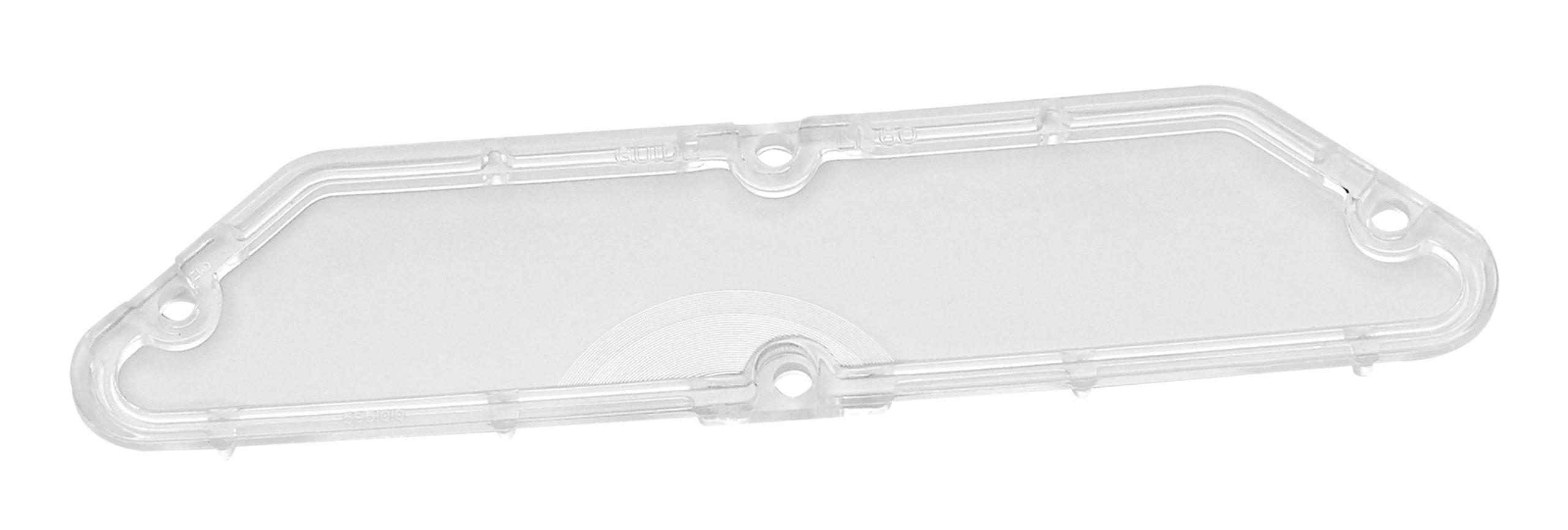 Trim Parts 1961-1967 Chevrolet Corvette License Light Lens. Rear
