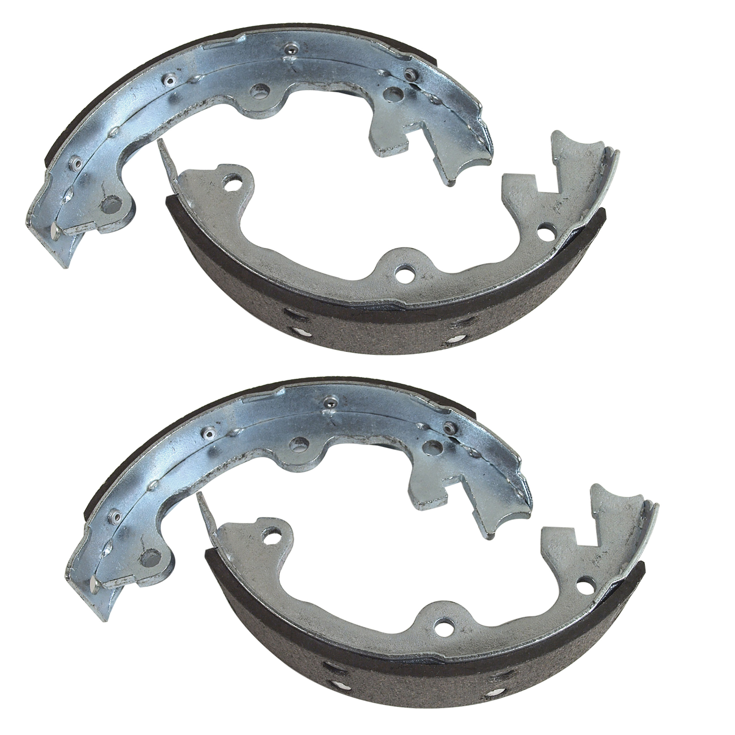 Corvette America 1965-1982 Chevrolet Corvette Park Brake Shoes. Reproduction - 4 Piece Set