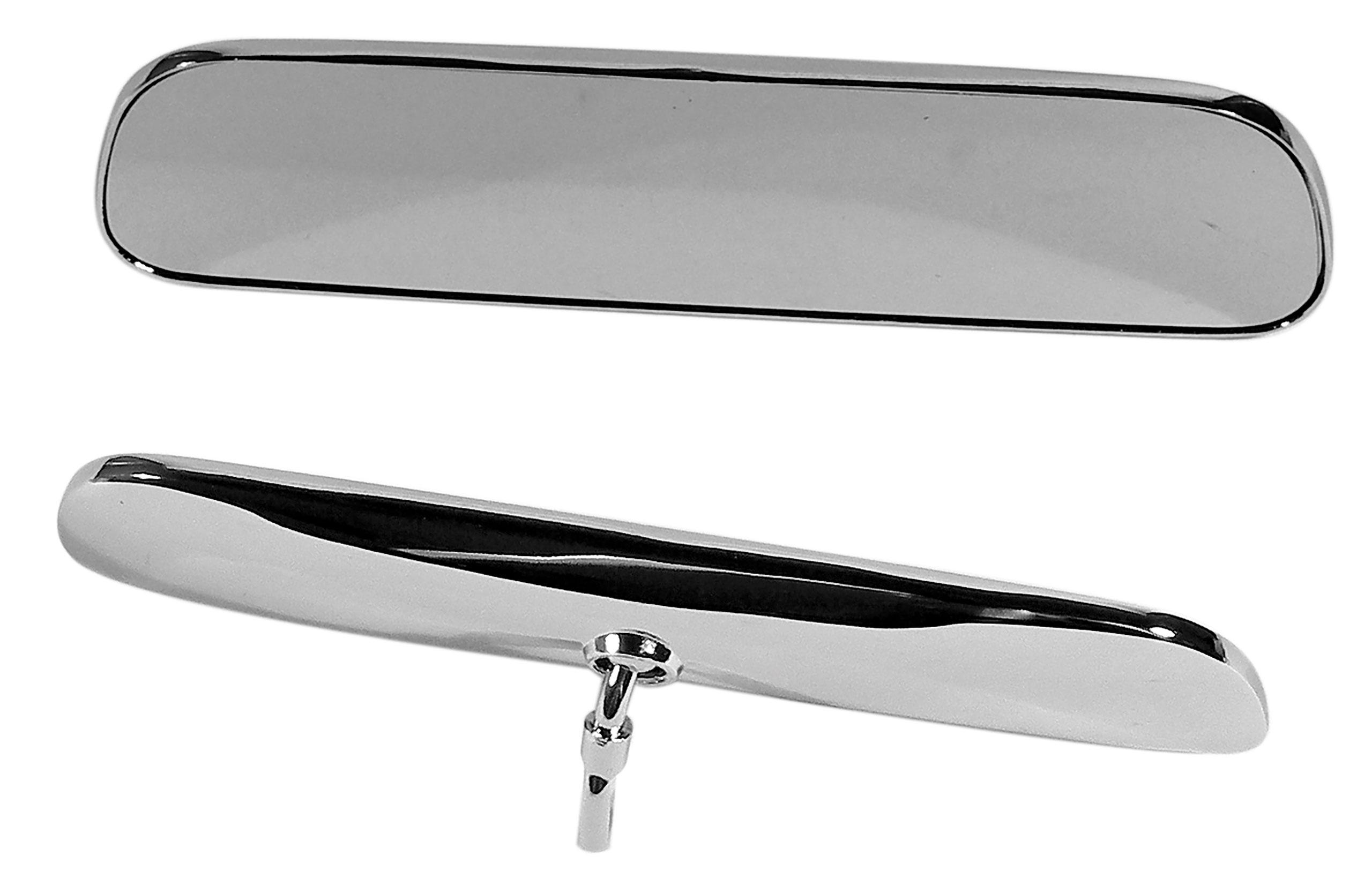 Corvette America 1963-1966 Chevrolet Corvette Inside Mirror. Non Day/Night Chrome