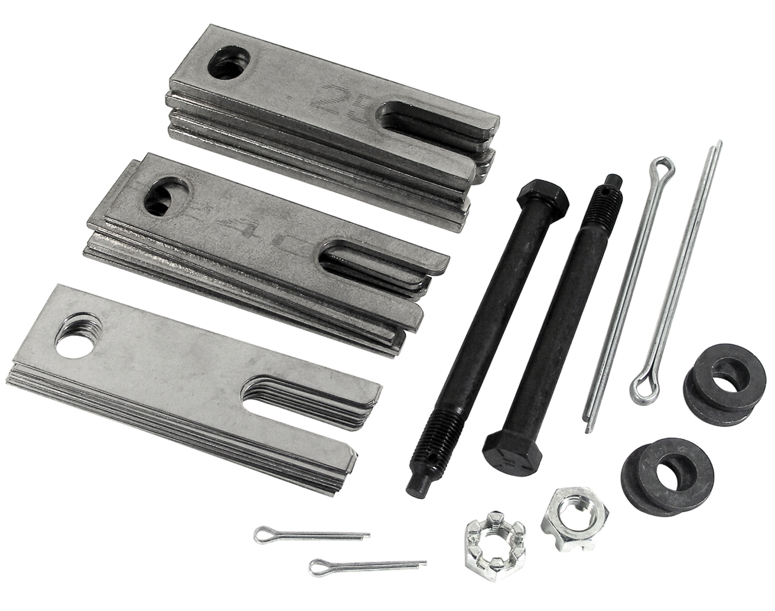 Corvette America 1963-1982 Chevrolet Corvette Trailing Arm Shim Kit. Stainless Steel W/Bolts