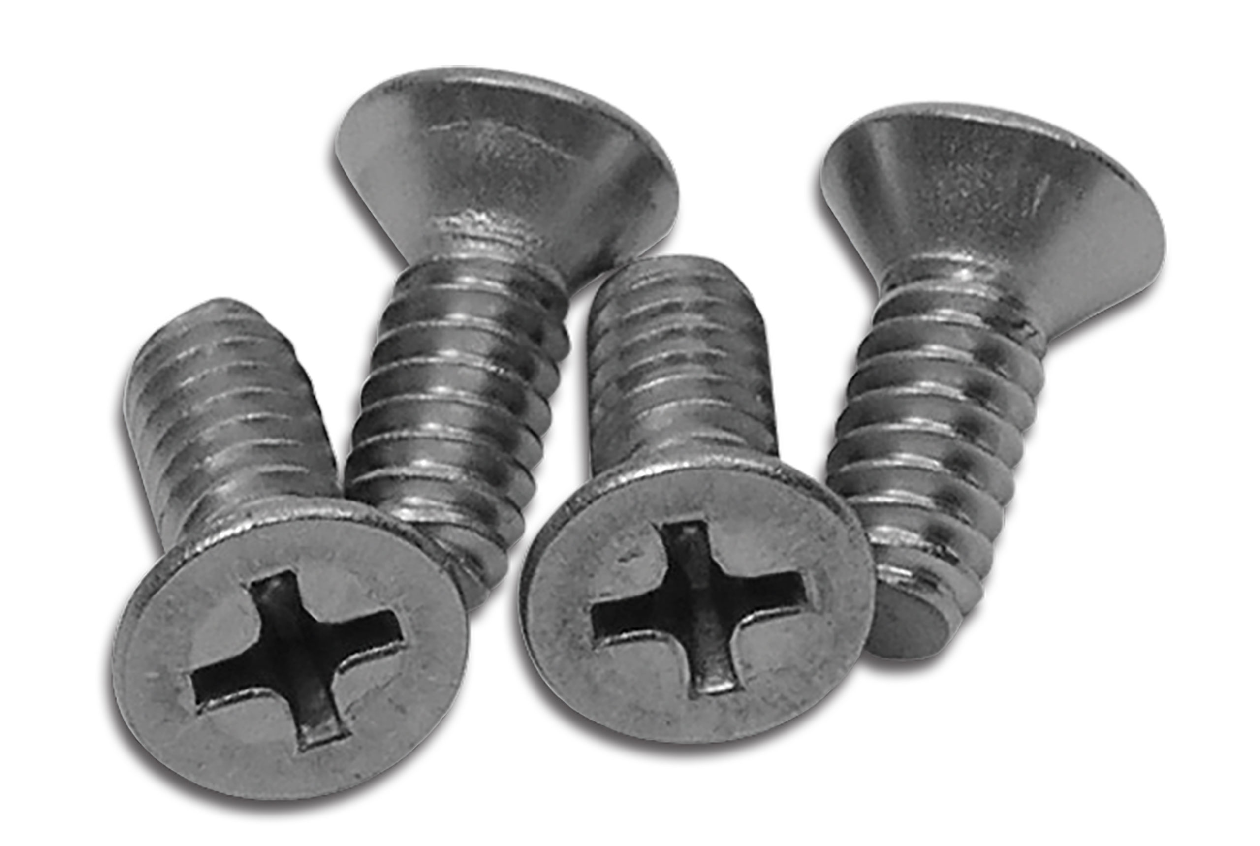 Corvette America 1968-1979 Chevrolet Corvette T-Top Rear Mount Plate Screws. 4 Piece